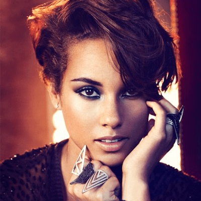 Alicia Keys Acne Trouble