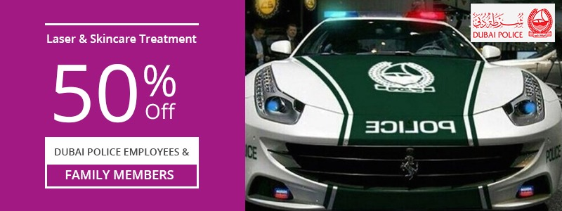 50% Off Dubai Police Employees and Family Members