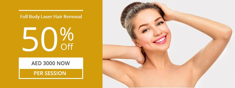 Full Body Laser Hair Removal 50% Off