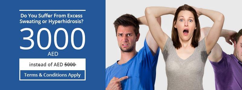 Sweating or Hyperhidrosis