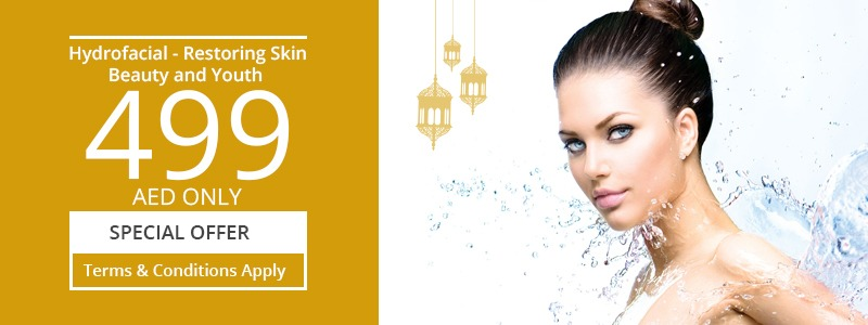 Hydrofacial Restore Skin Beauty and youth 499 AED