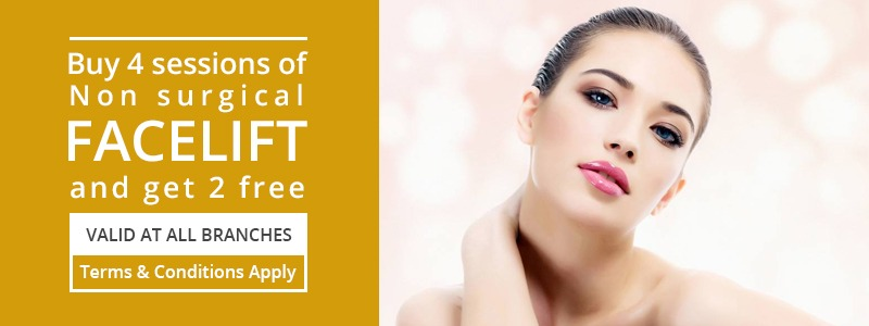 Buy 4 Session Get 2 Sessions Free on Facelift