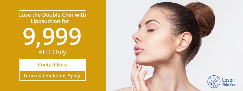 Lose the Doube Chin with Liposuction For 9,999