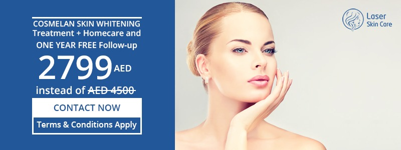 Skin Whitening Treatment + Homecare and One Year Free Follow Up