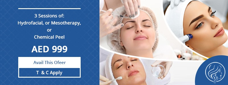 3 Seasons Of Hydrofacial Mesotherapy Or Chemical Peels