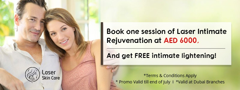 Book one session of Laser intimate Rejuvenation at 6000 AED
