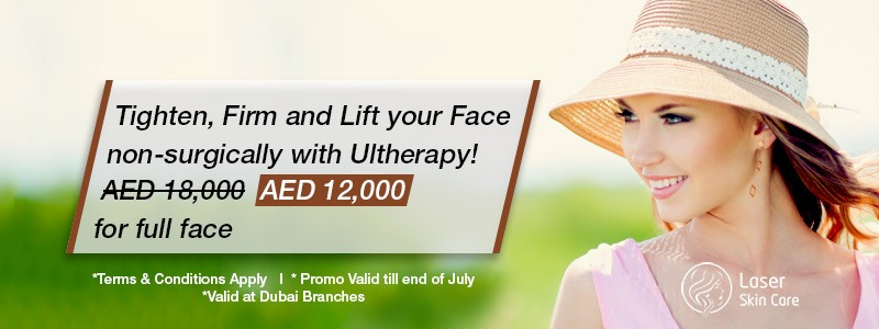 Tighten Firm and Lift your Face Non-Surgical with Ultherapy AED 12000