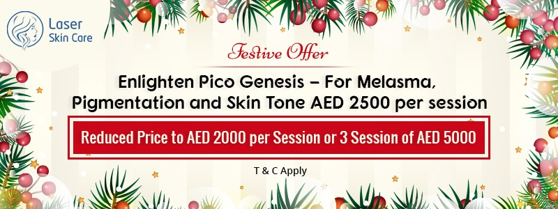 Enlighten Pico Genesis For Melasma and Pigmentation AED 2500 Only