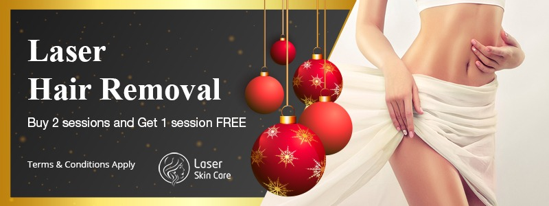 Laser Hair Removal Buy 2 Sesssions and Get 1 Free