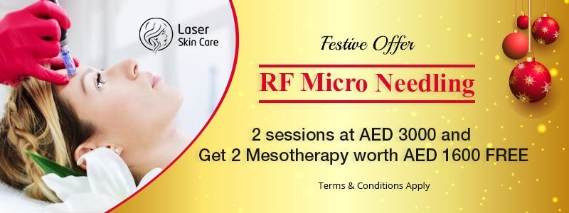 RF Micro Needling 2 Sessions at AED 3000 & Mesotherapy Worth AED 1600 Free