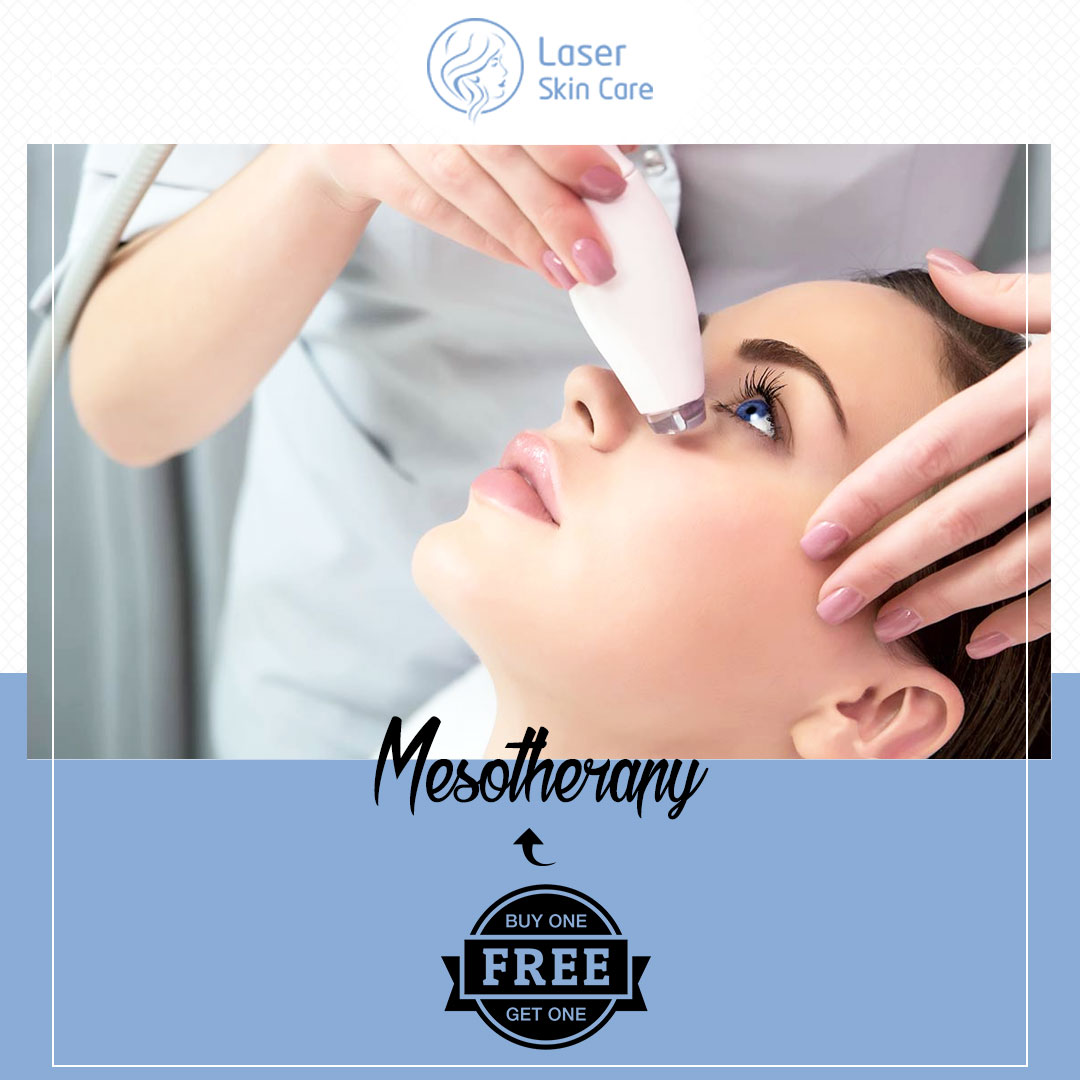 Mesotherapy Treatment Buy 1 Sessions and Get 1 Session Free