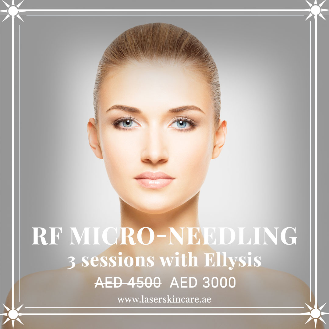 RF Micro Needling 3 Sessions with Eliysis