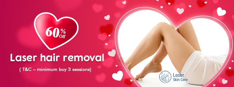 Get the 60% Off on Laser Hair Removal Treatment