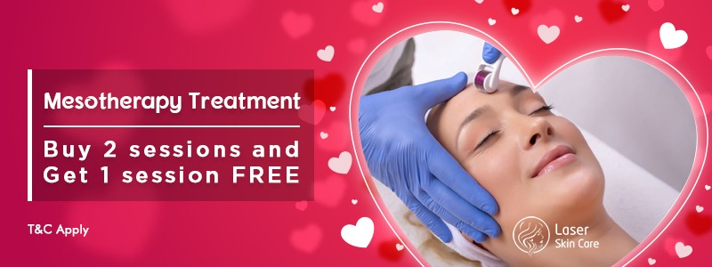 Mesotherapy Treatment Buy 2 Sessions and Get 1 Session Free