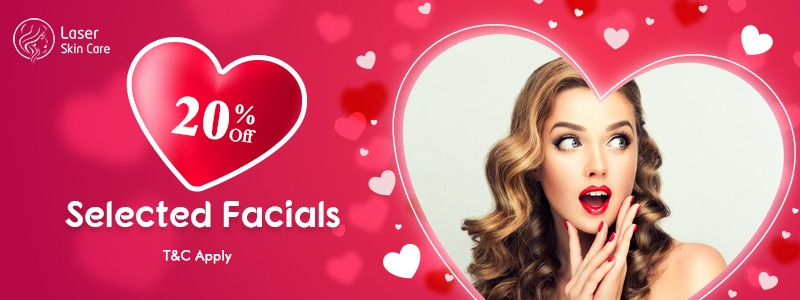 Special Discount Offer 20% Off on All Selected Facials