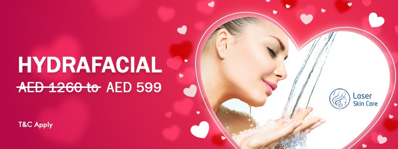Special Discount on Hydrafacial Treatment AED 599 Only