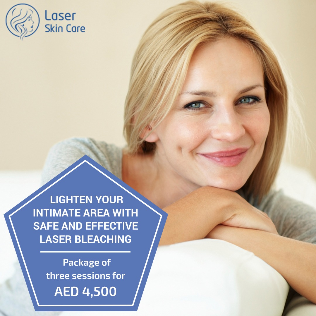 Intimate Area Lightening And Laser Bleaching Offer
