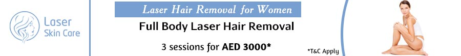 Full Body Laser Hair Removal Offer