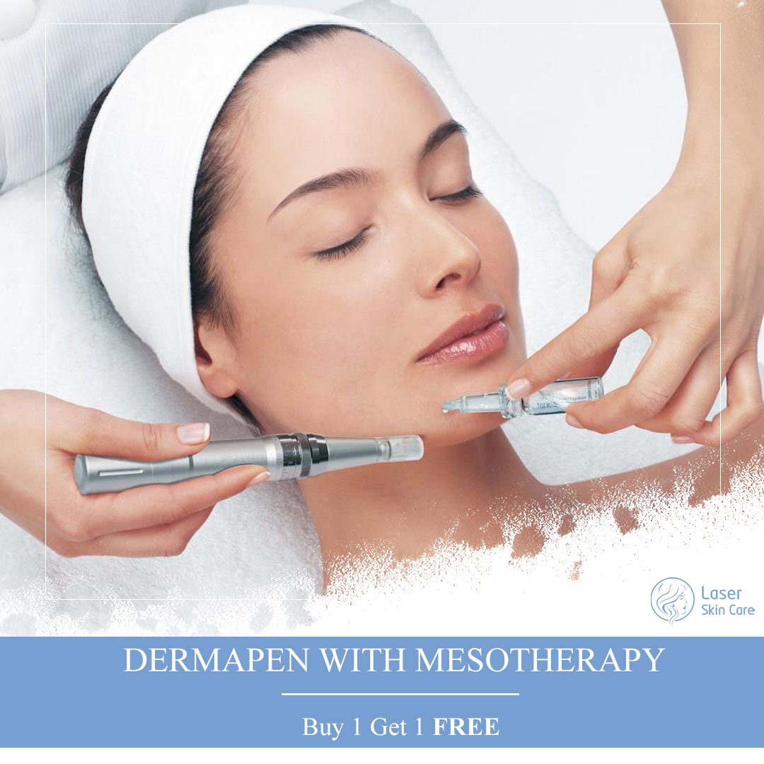 Dermapen with Mesotherapy Offer