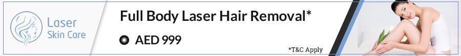 Full Body Laser Hair Removal Offer
