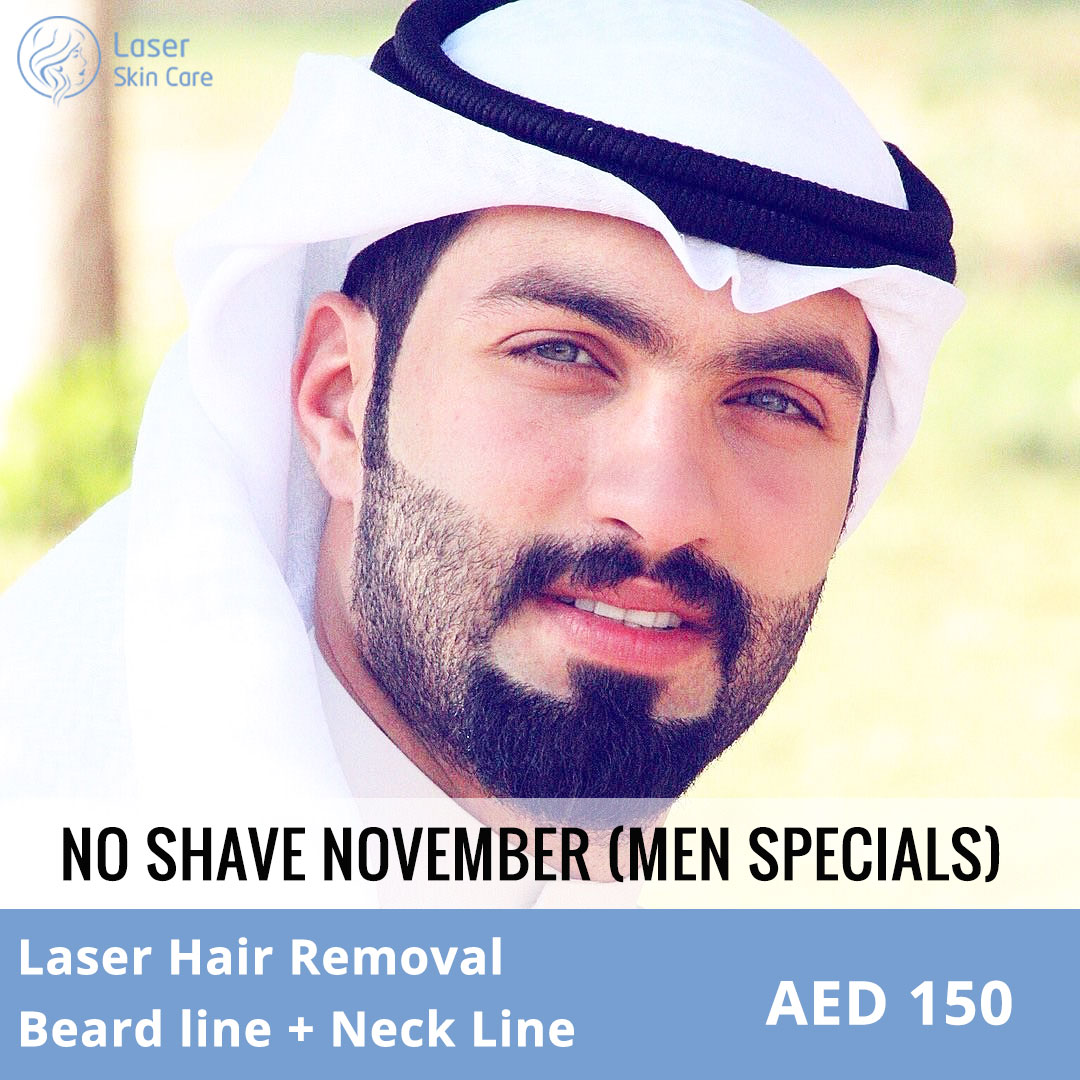 Laser Hair Removal / Beard Line + Neck Line Offer